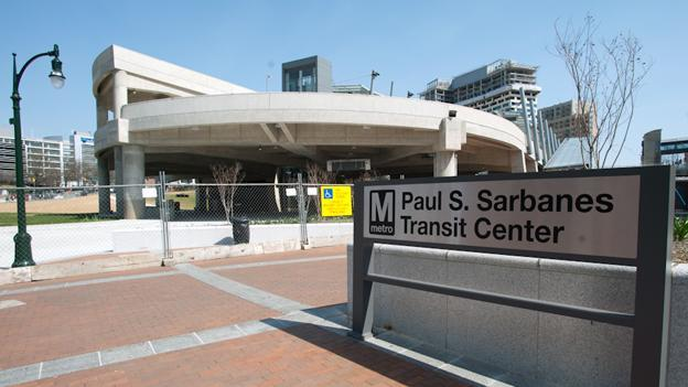 The Silver Spring Transit Center remains under construction, but there's light at the end of the tunnel.
