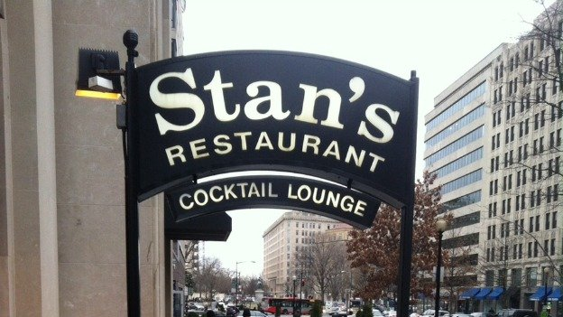 Stan's is only blocks from the White House, but it's easy to miss.