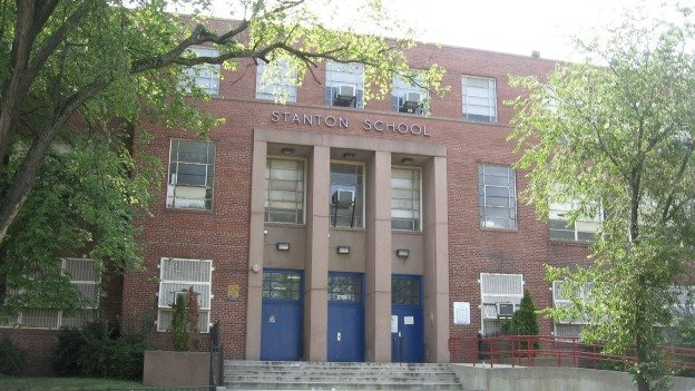 Stanton Elementary School, located along Alabama Avenue in Ward 8, posted three consecutive years of test score gains.