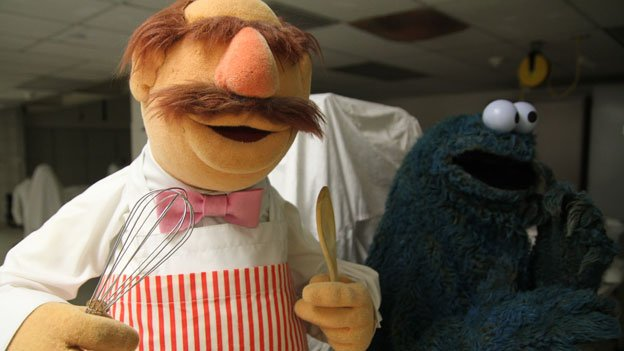 The Swedish Chef Muppet is getting finishing touches before going on display at the Smithsonian National Museum of American History. The puppet debuted in 1975.