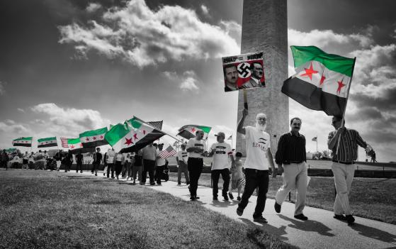 Walk For The Children of Syria in Washington D.C. on Sept. 8, 2012.