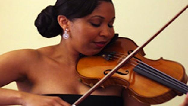 Tami Lee Hughes is in the middle of a one-year fellowship with the Baltimore Symphony Orchestra