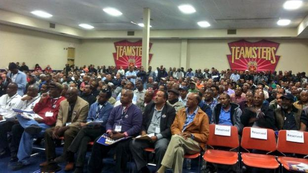 Hundreds of D.C. taxicab drivers are now unionized.