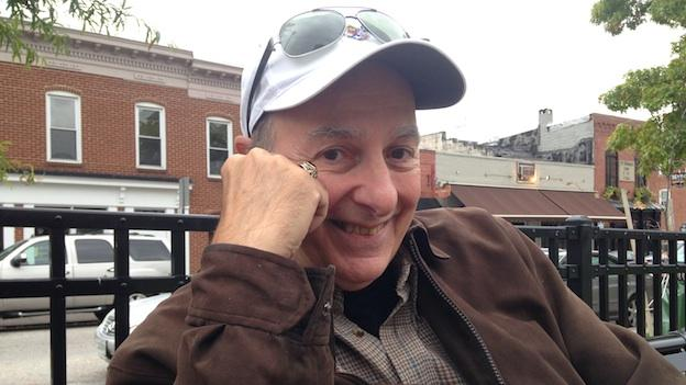 Author Tom Monteleone in Baltimore