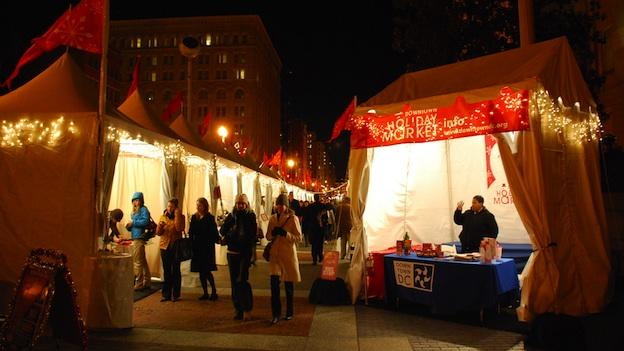 The Downtown Holiday Market has become a winter tradition in Washington.