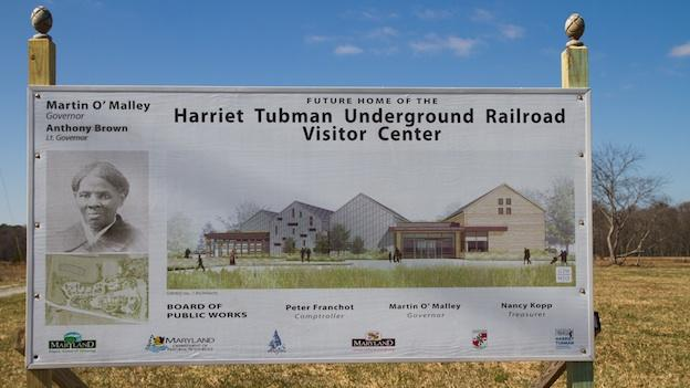 The visitor center and grounds will cover 17 acres, a few miles south of Cambridge, Md.