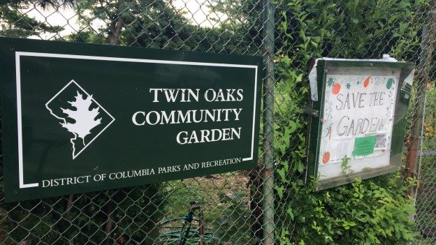 A plan by D.C. to pave over a community garden to create a parking lot for a nearby public school has drawn opposition from urban farmers.