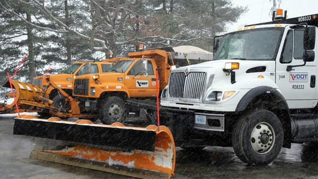 Snow removal crews will be pre-treating roads in Virginia ahead of the storm on Wednesday.