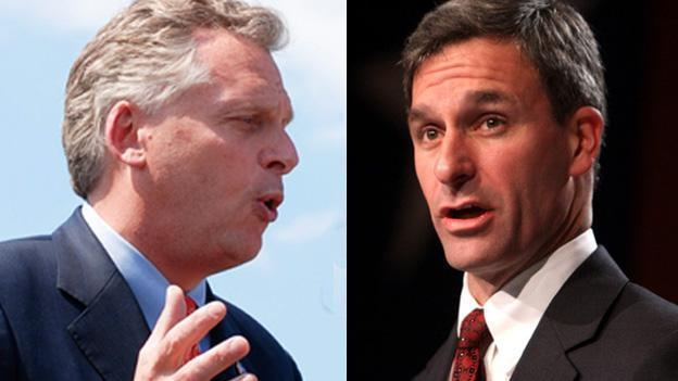 Neither of the two front-runners in Virginia's gubernatorial are raising much money in the state they hope to govern.