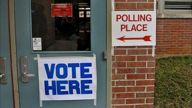 Polls are open today from 6 a.m. to 7 p.m.