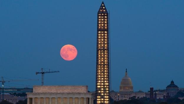 The Washington Monument has been closed since an earthquake in August 2011.