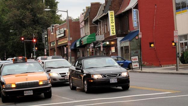 City planners recently reconfigured lanes on Wisconsin Avenue in Glover Park, but one legislator has started undoing that work.