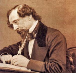 "English writer Charles Dickens, born in 1812, gave us such works as ""A Christmas Carol,"" ""Great Expectations,"" ""A Tale Of Two Cities,"" and many more."