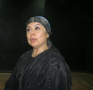 Layla Mohammed portrays life in war-torn Iraq at the Davis Performing Arts Center this week.