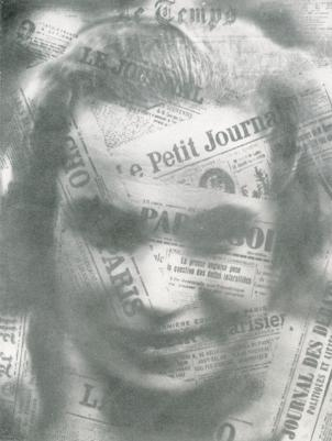 Remember newspapers? Remember when artists like Semen Fridliand used them for inspiration?