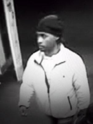 Montgomery County Police are seeking this man, who was caught on a drugstore surveillance video after allegedly robbing and assaulting two women in Bethesda.