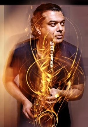 Alto saxophonist Rudresh Mahanthappa brings South Indian sounds and serious chops to Blues Alley.