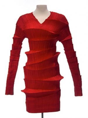 Dress, Fall/Winter 1990/91, Issey Miyake (b. 1938), Japan. Collection of Mary Baskett.