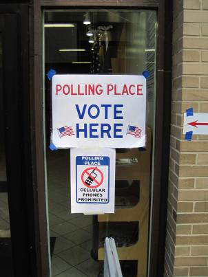Voters in D.C. head to the polls Tuesday in a special election for the at-large council seat.