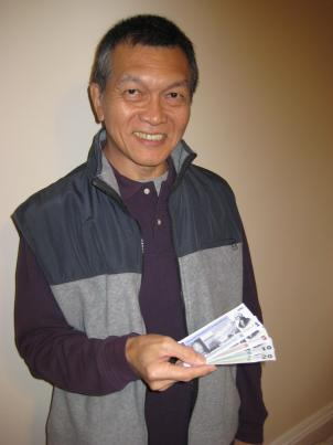 Larry Chang, creator of the Potomac, a local currency for the D.C. area.