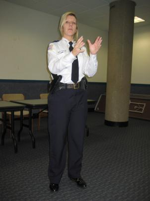 Assistant Chief Diane Groomes explains MPD's plans for the GLLU.