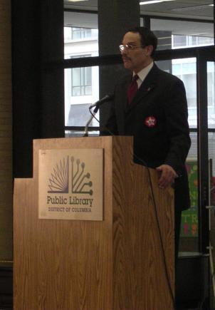 D.C. Council Chair Vincent Gray.
