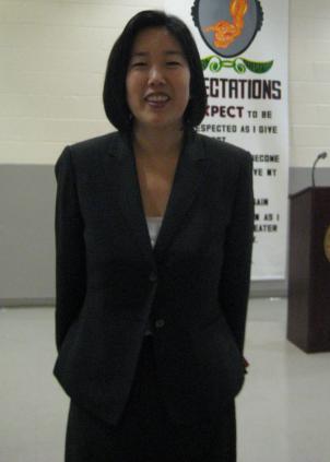 D.C. Chancellor Michelle Rhee.