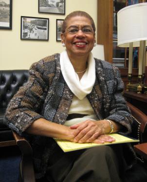D.C. Delegate Eleanor Holmes Norton.