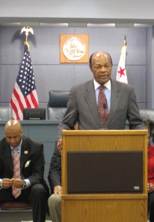 D.C. Council Member Marion Barry wants to hold a hearing into Chancellor Michelle Rhee's controversial comments.