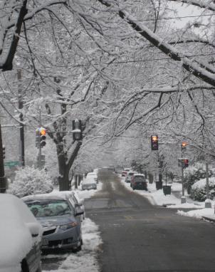 Washington Metro jurisdictions have used up snow removal budgets.