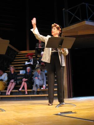 "The ""Will on the Hill"" production brought politicians and politicos to the Shakespeare Theatre Company's Harman Hall Monday night."