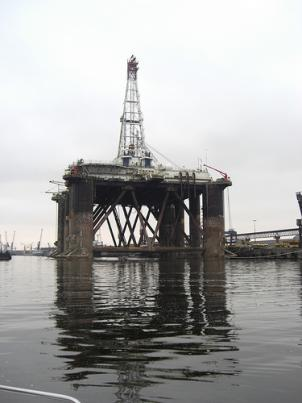 Environmentalists warn that offshore drilling threatens the Chesapeake Bay.