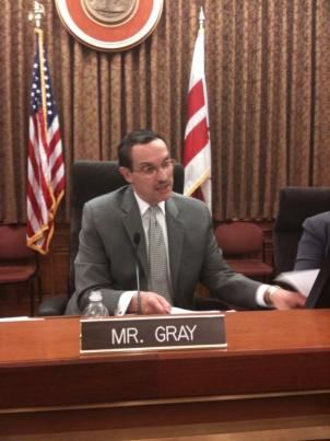 D.C. Council Chair Vincent Gray says he wants answers about the District's school's budget from Chancellor Michelle Rhee and the Chief Financial Officer Dr. Natwar Gandhi.