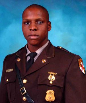 Maryland State Trooper Wesley Brown was shot and killed last Friday.