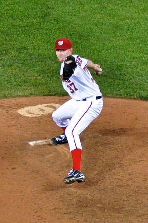New Washington Nationals pitcher Stephen Strasburg.