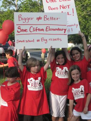 The Fairfax School Board is expected to vote Thursday night on whether to keep Clifton Elementary open.