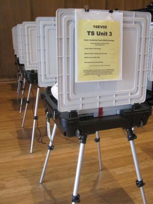 There will be new voting machines used for this year's election.