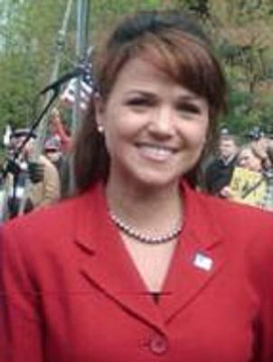 Christine O'Donnell ran as the Republican candidate in Delaware's Senate election.