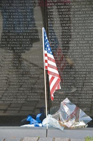 Streets near the Vietnam Veterans Memorial will be closed for Veterans Day events.