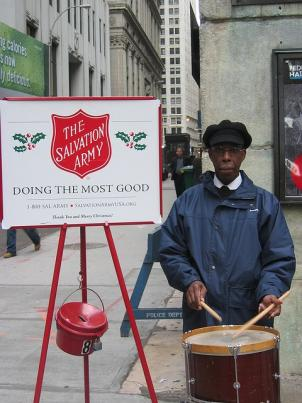 The Salvation Army's Red Kettle Campaign is off to a slow start this holiday season.