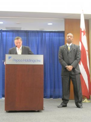 Pepco's corporate CEO, Joe Rigby, and its regional president, Thomas Graham, respond to criticism of widespread power outages.