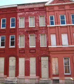 "Hundreds of city-owned abandoned properties listed for sale under the ""Vacants to Value"" program in Baltimore."