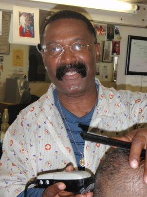 John Campbell is a barber in Benning Heights, Southeast D.C.