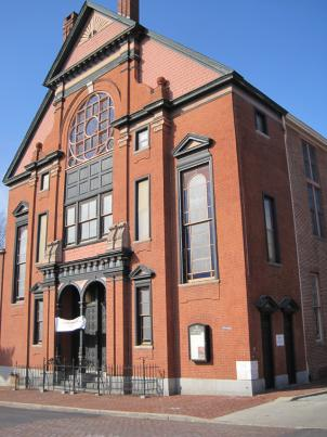 The Orchard Street Church in Baltimore, Md., is believed to have been a stop on the Underground Railroad.