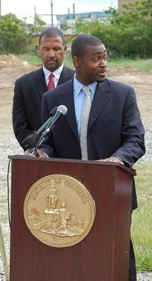 Emeka Moneme, shown here in 2008 while serving as director of D.C.'s Department of Transportation
