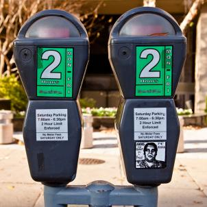 All of the District's parking meters will eventually be able to be paid by cell phone. The city will start expanding the service in June.