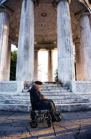 The last living WWI veteran, Frank Buckles, visited the D.C. War Memorial a few years before his death in February 2011. His dream was to have the memorial re-dedicated as a national WWI monument.