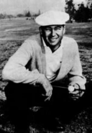 An old photo of Ken Venturi, who won the first U.S. Open held at Congressional Country Club in 1964, after playing two rounds on a 100-degree day.