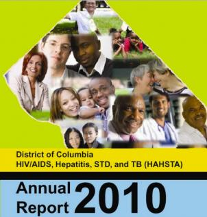 The 2010 report integrated D.C. data from 2009 on HIV/AIDS, hepatitis, STDs and TB.