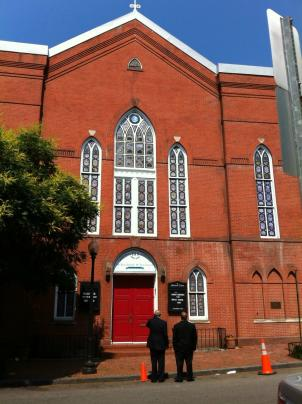 Mt. Zion United Methodist Church in Georgetown is the oldest black congregation in the city.